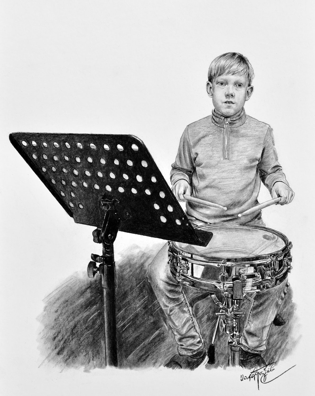 Kreslene Portrety Divek Psu Osobnosti Babicek A Deti Radek Zdrazil