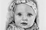 kresba na přání dítě