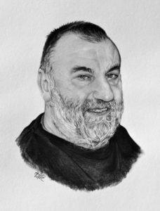 Kresba na dědečka
