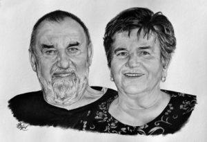 Portrét páru