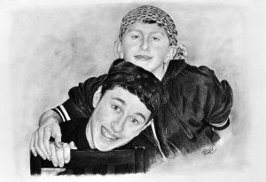Portrét bratrů II. obraz