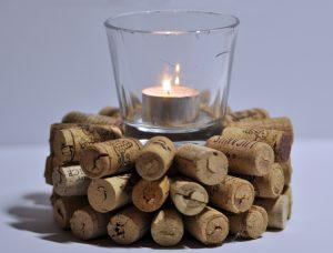 svícen, dekorace, svíčka, relax
