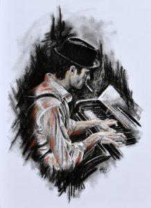 kresba dekorace obraz