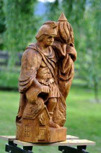 dřevořezba sv. Florián