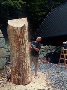 dřevořezba hukvaldy obora